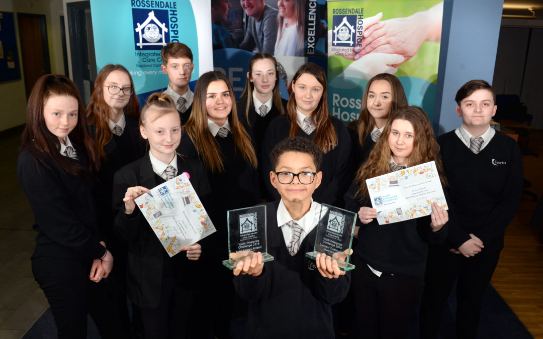 Charity champs win two awards