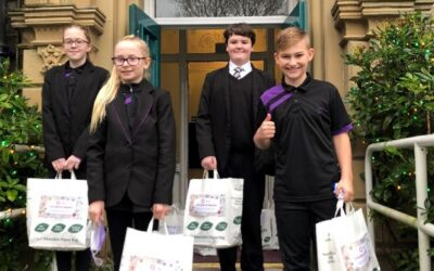 The Valley pupils gift 'kindness' in charity campaign